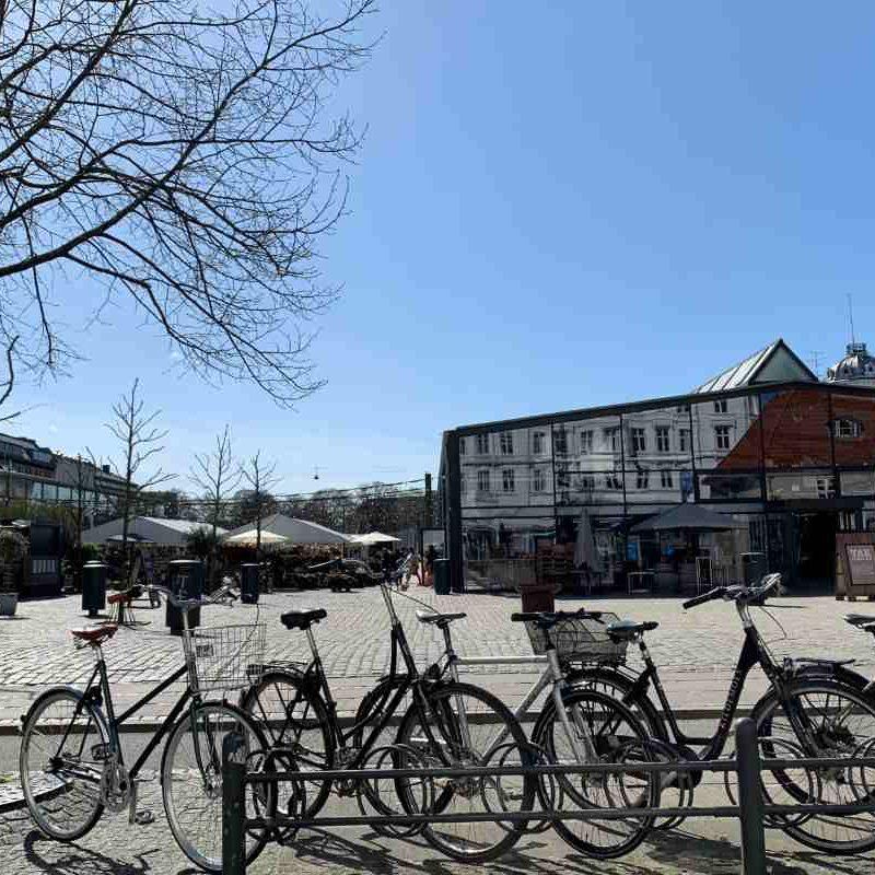 Torvehallerne, Rømersgade, Israels Plads, København K