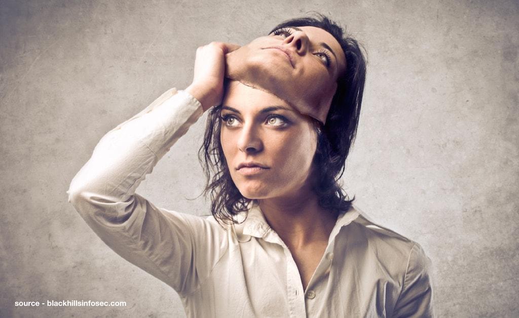 Imposter-syndrom som følelse af en maske